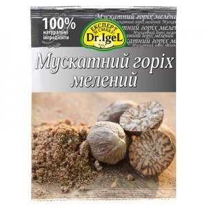 Мускатний горіх мелений ТМ Dr. Igel 10г