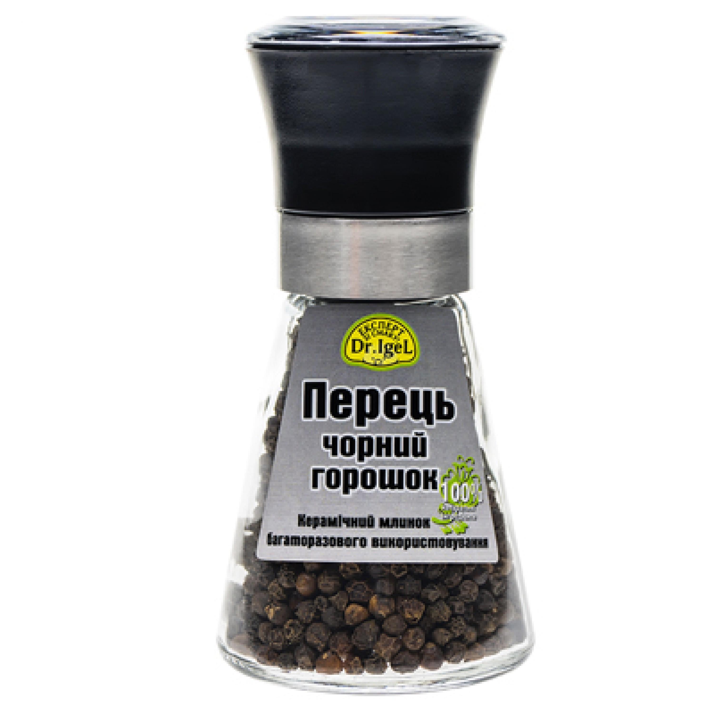 Перець чорний горошок ТМ dr igel 45г млинок