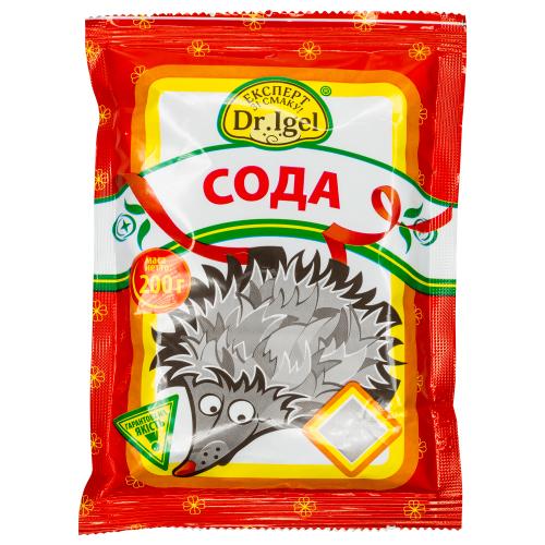 Сода ТМ Dr. Igel 200г