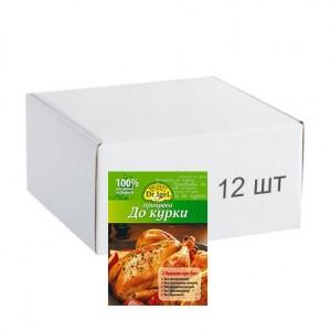 Упаковка приправи Dr.IgeL до курки 20 г х 12 шт