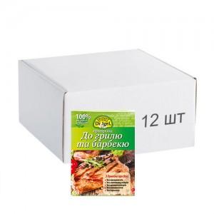 Упаковка міксу трав і спецій Dr.IgeL до грецького салату 8 г х 12 шт