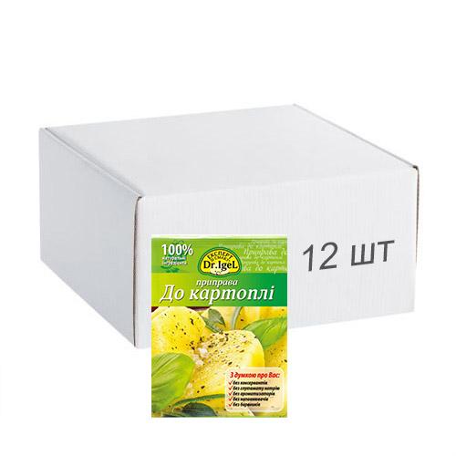 Упаковка приправы Dr.IgeL к картофелю 20 г х 12 шт