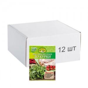 Упаковка міксу трав і спецій Dr.IgeL до курки 15 г х 12 шт