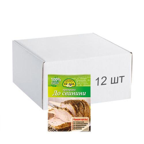 Упаковка приправы Dr.IgeL к свинине 20 г х 12 шт