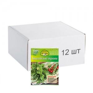 Упаковка приправи Dr.IgeL Італійські трави 10 г х 12 шт