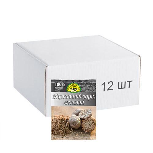 Упаковка ореха мускатного Dr.IgeL молотый 10 г х 12 шт