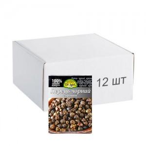 Упаковка перца черного Dr.IgeL горошек 15 г х 12 шт