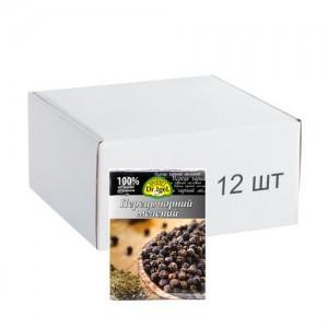 Упаковка перцю чорного Dr.IgeL меленого 20 г х 12 шт